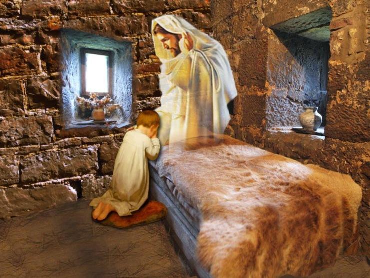 copil in rugaciune.3