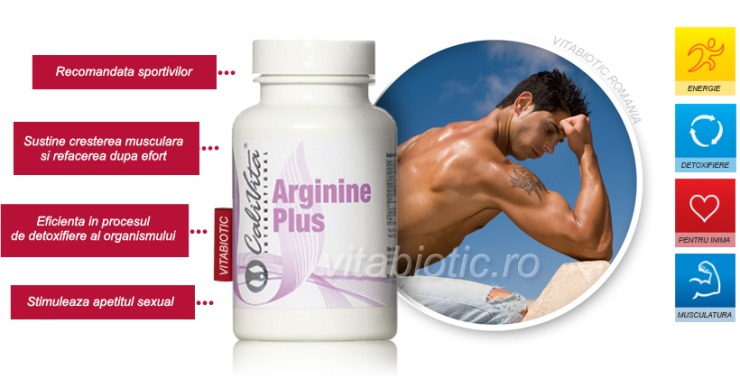 arginine plus calivita vitabiotic