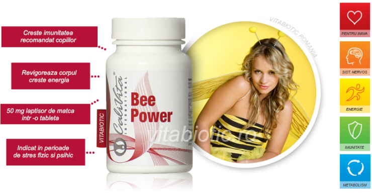 bee power laptisor de matca calivita vitabiotic